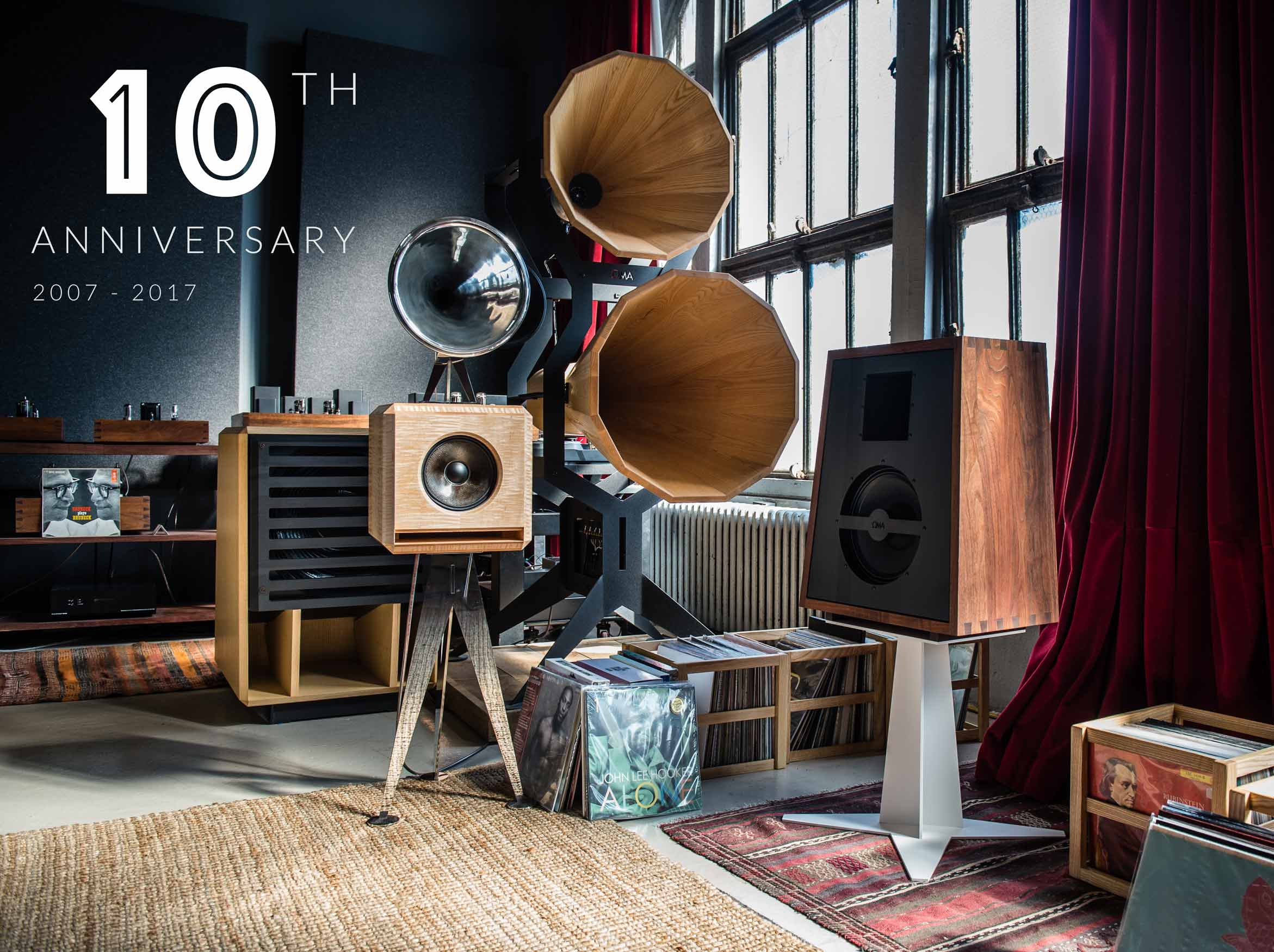 OMA Oswalds Mill Audio 10-Year Anniversary