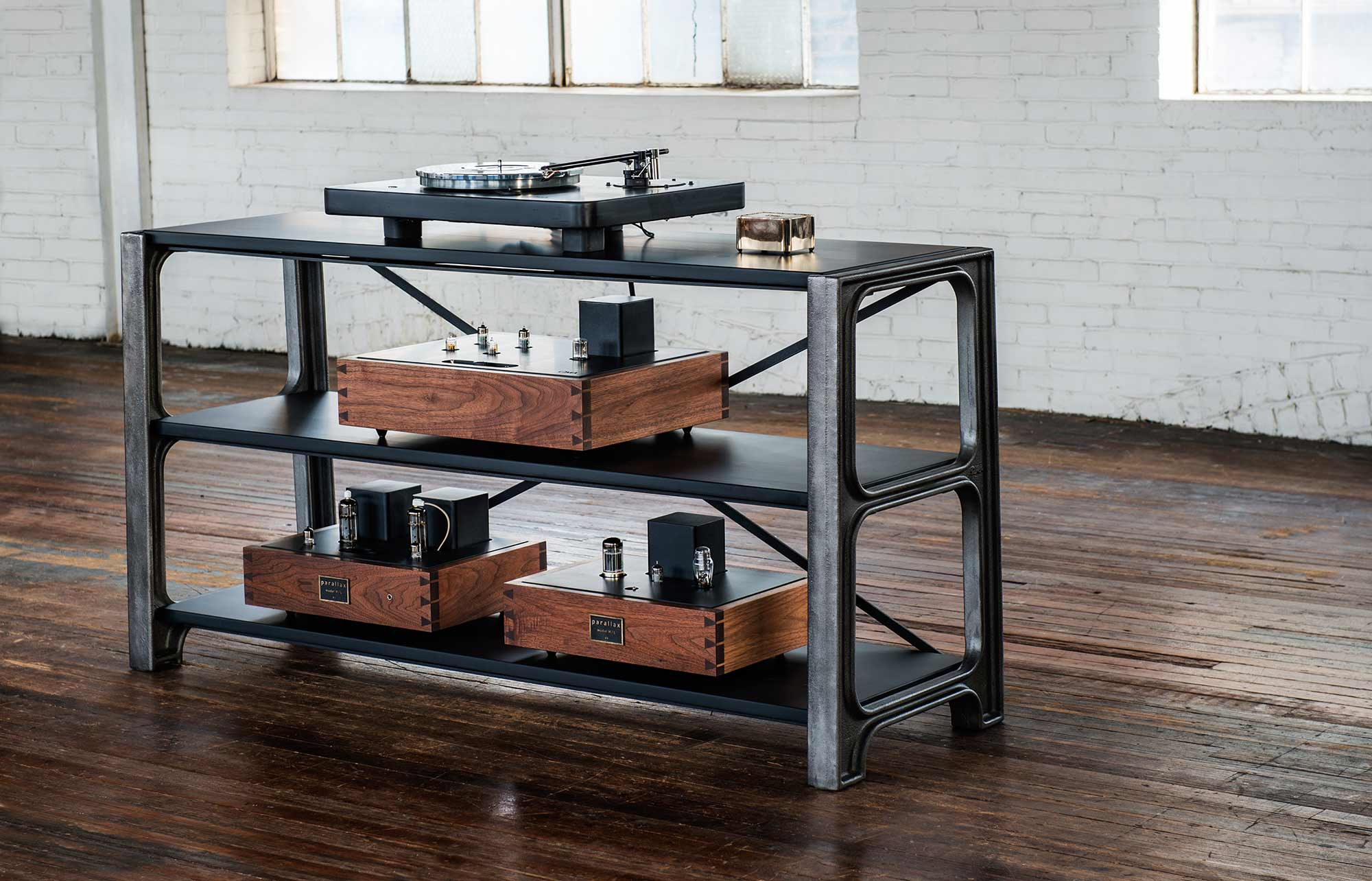 OMA Oswalds Mill Audio Equptment rack